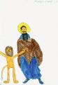 Свети Герасим и лав Јордан